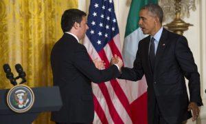 "Nuovo ""asse"" Renzi-Obama, referendum e PD"